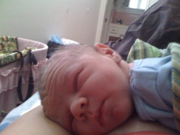Aiden Christopher Nolan Aug 2009 Picture of my 11 grandson