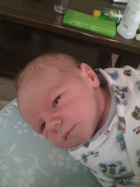 Aiden Christopher Nolan late Aug 2009 Picture of my 11 grandson