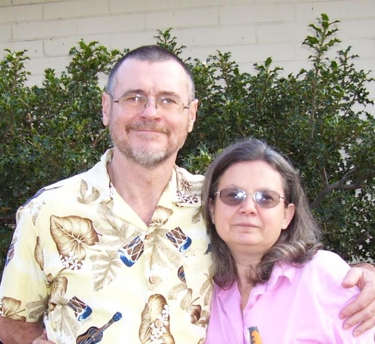 Carl and his sister Theresa Myers 2007